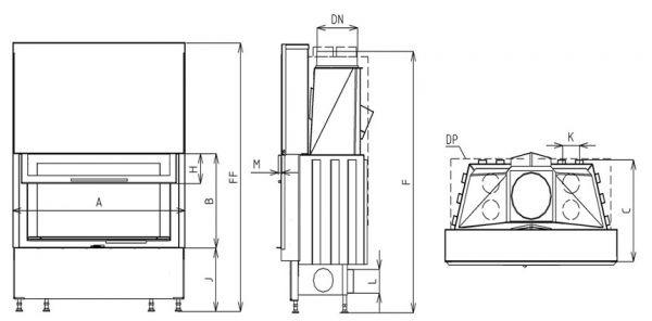 Horizontal VD gilotyna 970/510 AIB