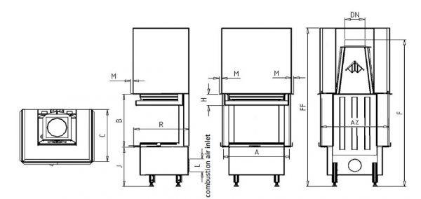 Vision VD gilotyna 625/510 SM BS/500