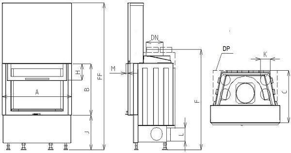 Midi VD gilotyna 670/510 SM
