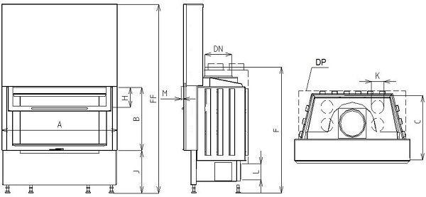 Midi VD gilotyna 740/510 SM
