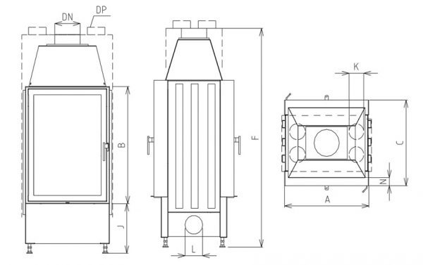 Vertical 600/910 O tunel SOC
