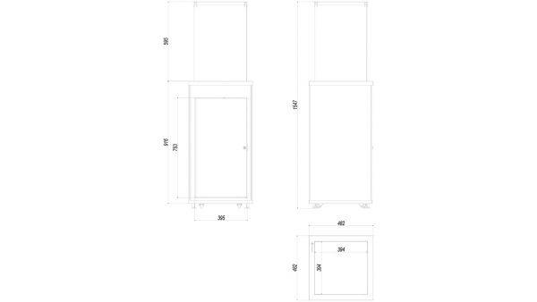 Patio manualne stalowy