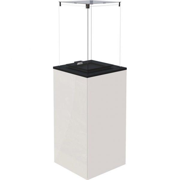 Patio MINI manualny szkło/panel biały