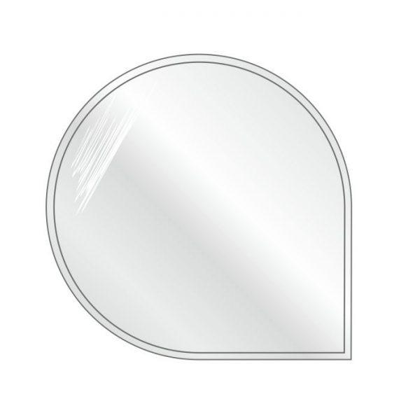 Podstawa szklana okrągła-narożna 1100x1100 mm