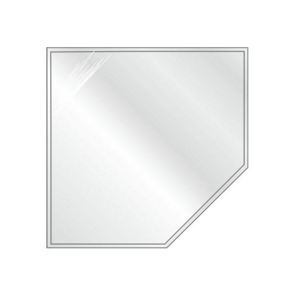Podstawa szklana pięciokątna-narożna 1100x1100 mm