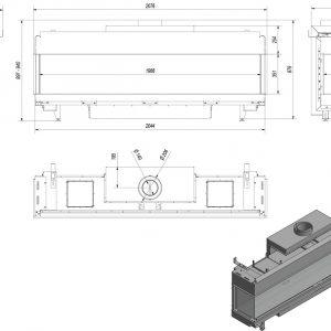 Leo 200 Lewy/Prawy na gaz techniczny LPG