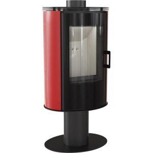 Koza AB S/N/O/DR Glass Kafel czerwony