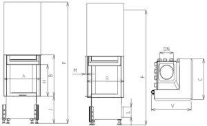 Corner VD gilotyna 500/510 BS/500 prawy